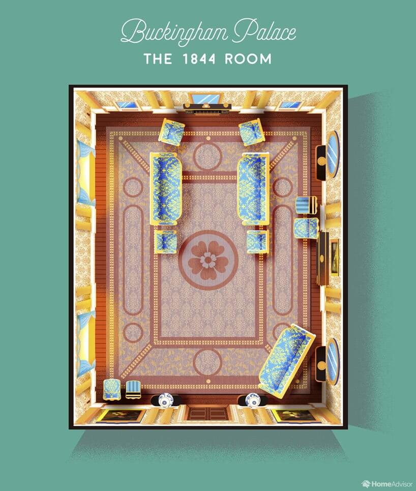 the 1844 room AKA the most important room in the palace